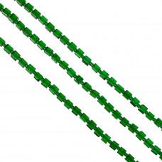 Kostki crackle zielone 6mm