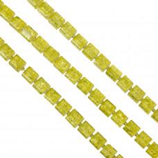 Kostki crackle cytrynowe 10mm