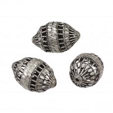 Przekładka oliwki ażurowe diamentowane 30x20mm
