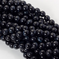 Czarne sokole oko kulka gładka 10mm
