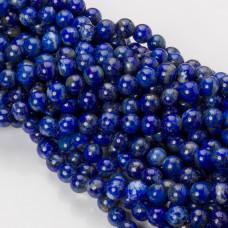 Lapis lazuli kulka gładka 8mm niebieski