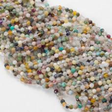 Mix kamieni fasetowanych 3mm