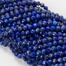 Lapis lazuli kulka fasetowana 6mm