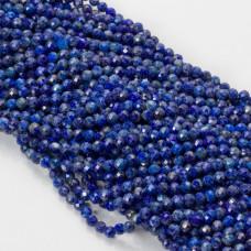 Lapis lazuli kulka fasetowana 4mm