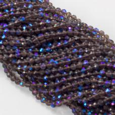 Kryształ górski aurora platerowany 4.5mm