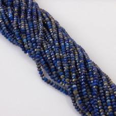 Lapis lazuli oponka fasetowana 3x4mm