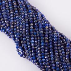 Lapis lazuli kulka fasetowana 5mm