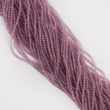 Kocie oko kulka fasetowana fioletowa 2,8-3mm