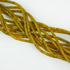 Jadeit zielony krążek zielony 4x2mm