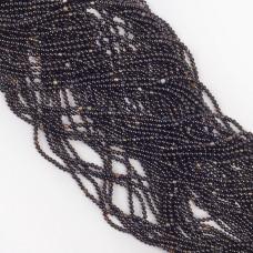 Czarny agat kulka gładka 2mm