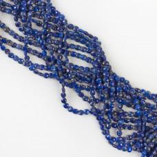 Lapis lazuli dysk fasetowany 4mm