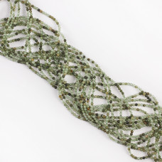 Kryształ górski zielony kulka gładka 2mm
