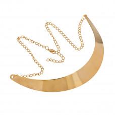 Naszyjnik choker gładki złoty