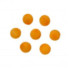 Kulki welurowe 10mm pomarańczowe
