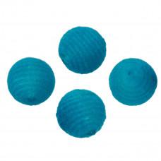 Kulki welurowe 20mm niebieskie