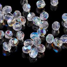 Fire Polish Crystal AB (X00030) 4mm