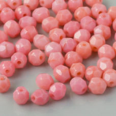 Fire Polish Carnation Pink (73030) 4mm