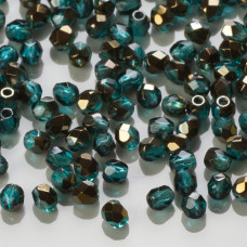 Fire Polish Blue Iris - Teal (BR60150) 3mm