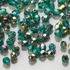 Fire Polish Vitral - Emerald (V50730) 3mm