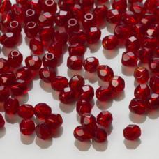 Fire Polish Ruby (90100) 3mm