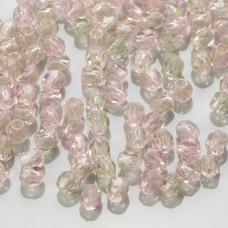 Fire Polish Green/Pink (57701) 3mm