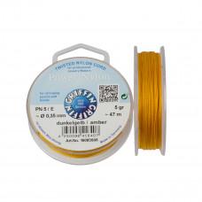 Nitka Power Nylon do koralików amber 0,35mm