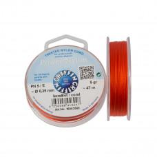 Nitka Power Nylon do koralików coral 0,35mm