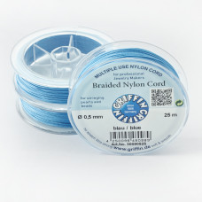 Griffin nylonowy sznurek do makramy blue 0,5mm
