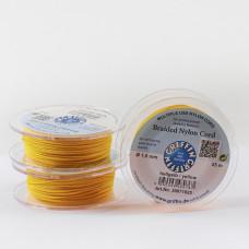 Griffin nylonowy sznurek do makramy yellow 1mm