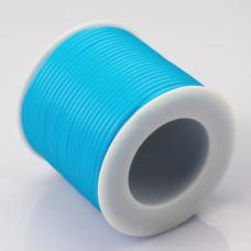 Tuba kauczukowa 2mm błękitna