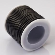 Tuba kauczukowa 2mm czarna