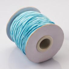 Gumka pleciona 1mm błękitna