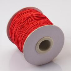 Gumka pleciona 1mm czerwona