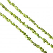 Howlit zielony bryłka 14mm