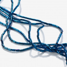 Hetamty platerowany walec niebieski 4x2mm