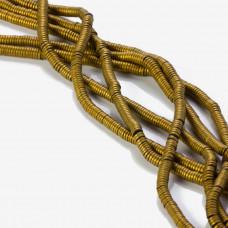 Hematyt matowy krążek złoty 4,5x1mm