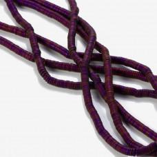 Hematyt matowy krążek fioletowy 4,5x1mm