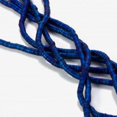 Hematyt matowy krążek niebieski 4,5x1mm
