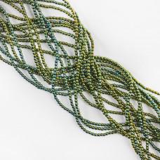 Hematyt platerowany kulka gładka emerald 2mm