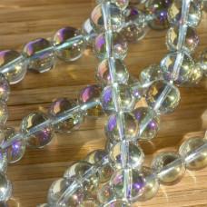 Kryształ górski kulka gładka multikolor 10mm