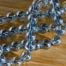Kryształ górski kulka gładka niebieski 10mm