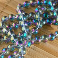 Kryształ górski kulka gładka zielona 6mm