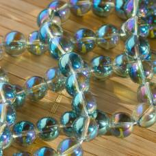 Kryształ górski kulka gładka zielona 8mm