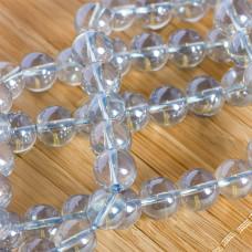 Kryształ górski kulka gładka stalowa 10mm