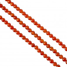 Agat czerwony kulka 8mm