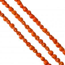 Howlit czaszka 9mm pomarańczowa