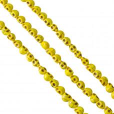 Howlit czaszka 9mm żółta