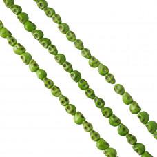 Howlit czaszka 9mm zielona
