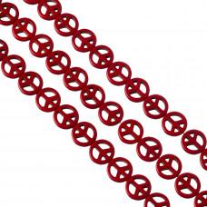 Howlit pacyfka 15mm czerwona