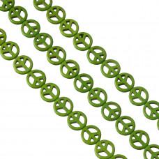 Howlit pacyfka 15mm zielona